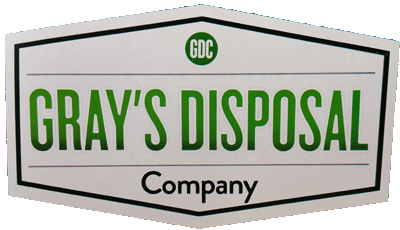 Grays Disposal Co (615) 333-9311 Nashville TN Brentwood Franklin Lavergne Smyrna Garbage Disposal Services www.GraysDisposal.com
